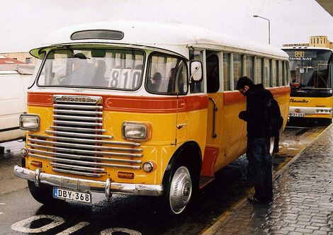 Bus in Malta. Copyright Felix O.